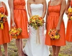 Im Thinking Burnt OrangeColors That Would Work Weddings - Burnt orange and green wedding colors