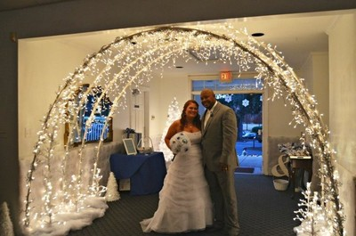 indoor wedding arches. diy archway | weddings, style and decor, do it yourself wedding forums weddingwire indoor arches