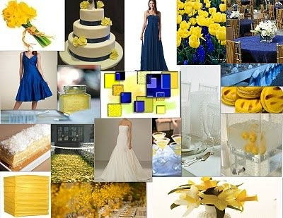 royal blue and yellow wedding colors. to move it up feb 2012, my colors were going be royal blue \u0026 yellow, but i am not sure if these would still work for feb, and suggestions?? yellow wedding