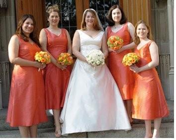 Bill Levkoff Persimmon - Weddings- Beauty and Attire - Wedding ...