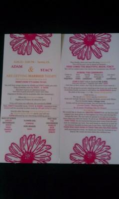 Vistaprint Rack Cards For Programs Weddings Do It Yourself