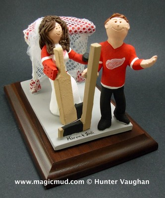 hockey goalie wedding cake topper help how to incorporate sports into our wedding 15258
