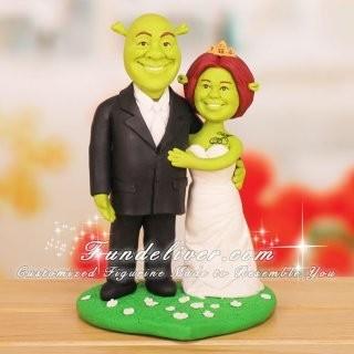 shrek and fiona cake topper | Weddings, Planning | Wedding ...