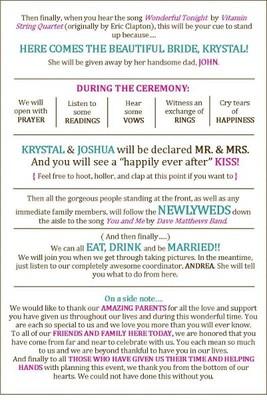 Extra Creative Programs?! | Weddings, Fun Stuff, Do It Yourself ...