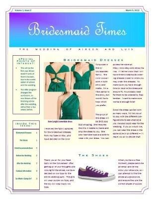 Brides Newsletter 67