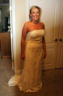 Candlelight Wedding Dress Color