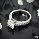 130x130 sq 1331659517445 customchannelsetdiamondengagementringbywhiteflash30297g