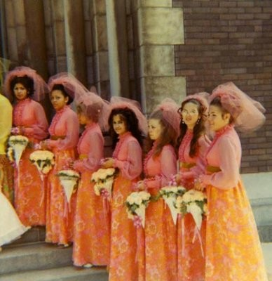 Tacky Trashy Bridesmaid Dresses