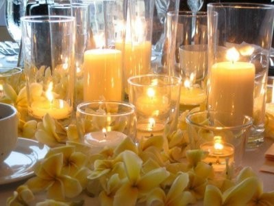 Best place to buy large candles & candle holders for centerpieces ...