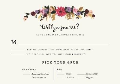RSVP wording ideas needed! | Weddings, Planning, Etiquette and ...