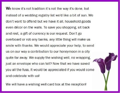 wedding wishing well poem weddings honeymoon do it yourself wedding forums weddingwire