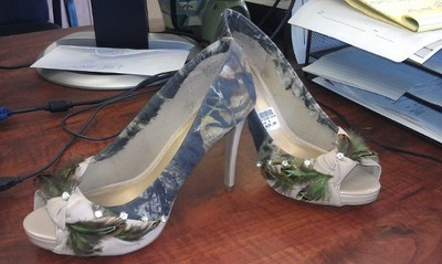 My Camouflage Themed SHOES