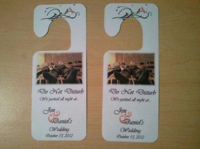 Diy do not disturb door hanger weddings do it yourself fun stuff wedding forums - Diy do not disturb door hanger ...