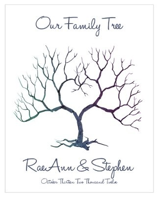 Wedding Family Tree Template Elitadearest