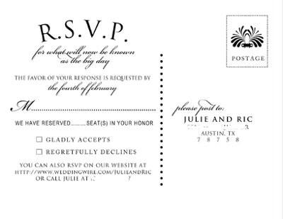 Show Me Your Rsvp Card Wording Weddings Planning Wedding Forums Weddingwire