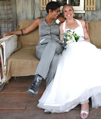 Lesbian wedding dress or suit weddings fun stuff for Lesbian wedding dresses and suits
