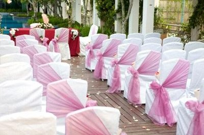 Black Mesh CHair Bow Weddings Style And Decor Wedding Forums - Wedding chair ties