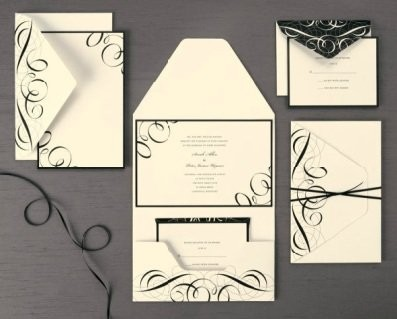 Michaels Invitations To print or not to print Weddings Do It