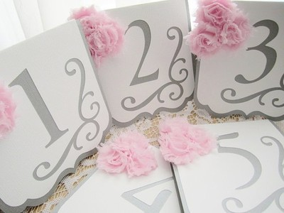 10 Days out and I need table numbers Ahh Ideas Weddings