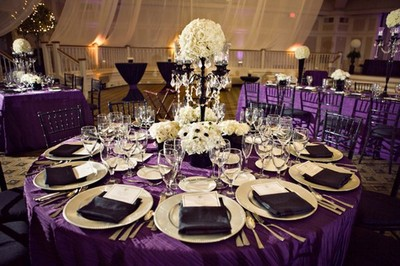 Purple Tablecloths For Wedding are you doing a light purple or a