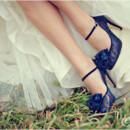 130x130 sq 1379212054809 blue bridal shoes52