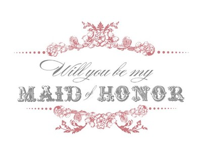 ... Bridesmaid/Maid Of Honor Cards | Weddings, Do It Yourself | Wedding