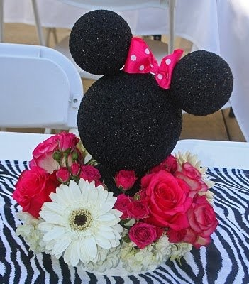 Disney themed wedding centerpieces weddings planning for Do it yourself centerpieces for birthday