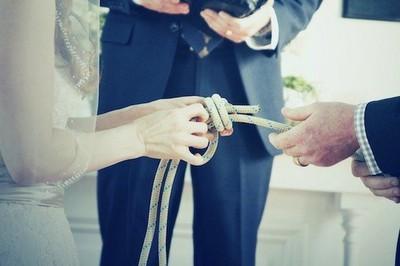 Knot Tying Ceremony