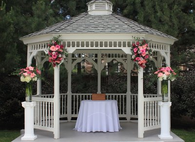 Gazebo Wedding Decorating Pictures Photograph | How to Dress