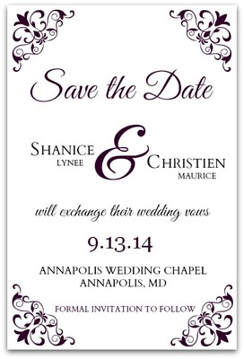 when should i send out my wedding save the dates vadsbo for