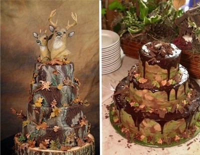 Southern Wedding Dresses With Camo Here are some camo ideas (cake