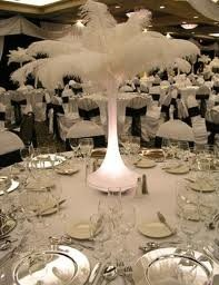 ostrich feathers weddings style and decor planning do it