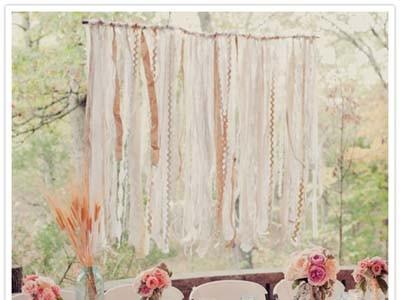 Diy Streamer Backdrop Help Weddings Do It Yourself