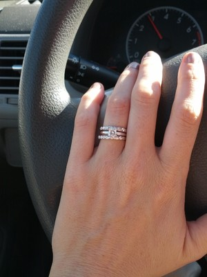 Show Me Your Wedding Bands Weddings Beauty And Attire Wedding Forums. Learn  How To Wear ...