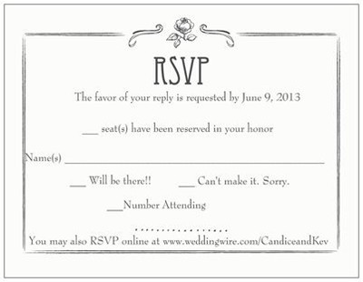 Invitation and rsvp suggestions revisions additions for Rsvp stand for on an invitation
