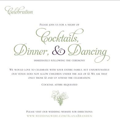 Reception Invite Wording was luxury invitations design