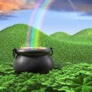 130x130 sq 1365472477689 irish pot of gold and rainbow