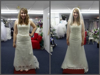 Wedding Dress Before And After