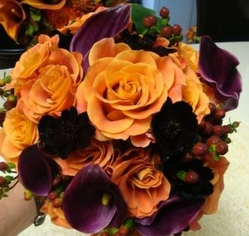 Help me pick october 2014 fall wedding colors weddings - Flowers for wedding in october a colorful autumn ...