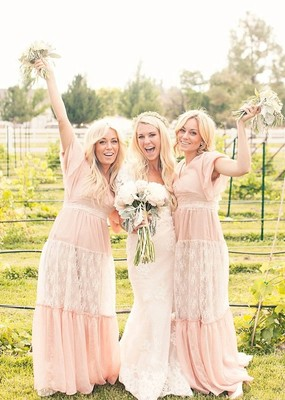 Where to find boho bridesmaid dresses weddings beauty for Where to buy boho wedding dresses