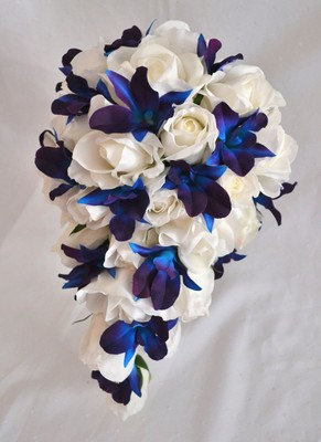 Pics For > Blue And Purple Orchids