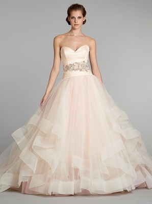 Pink Wedding Dresses? | Weddings, Planning, Beauty and Attire ...