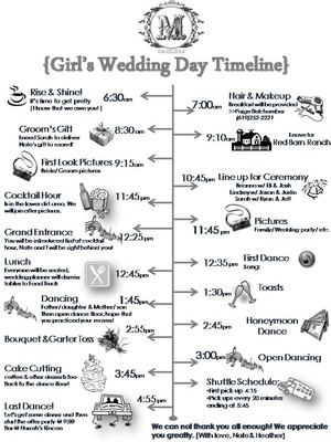 Morning Ceremony, Lunch Reception :) | Weddings, Etiquette And