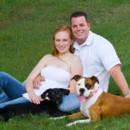 130x130 sq 1371253427606 portrait outdoor couple dog engagement1