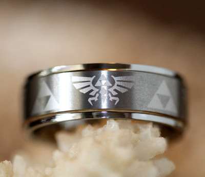 hes a big gamer and decided that he wanted this who was i to say no we love our rings