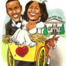 130x130 sq 1392388369977 wedding.caricature.hayride.damonbrittany