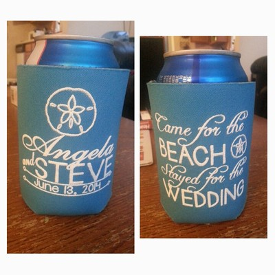 them since i chose my own design not one they had and the shipping was quick too i ordered 75 and they sent me 77 plus a bride and groom koozie