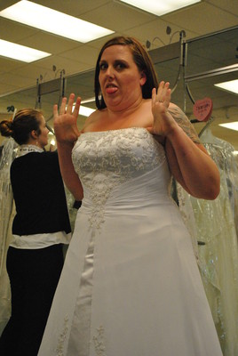 wedding dress fails who is brave enough weddings fun stuff