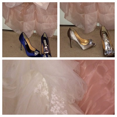 Which shoe with which dress weddings beauty and attire for What shoes to wear with navy dress for wedding