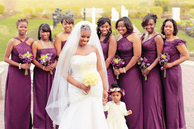 Different Bridesmaids Dresses - Weddings- Beauty and Attire ...